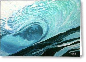 Wild Wave - Greeting Card