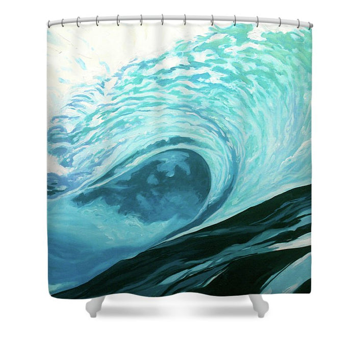 Wild Wave - Shower Curtain