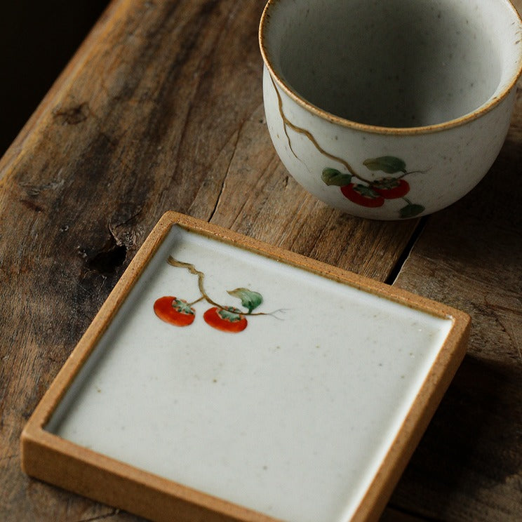 Painting series - cup and saucer set