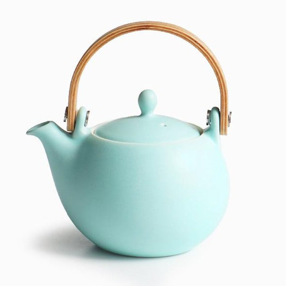 YUI teapot & teacup set - Teal colour