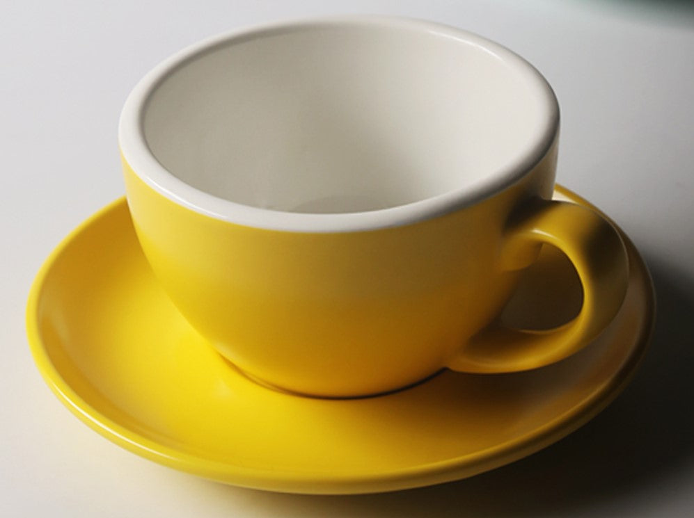 Candy color coffee cup/cappuccino cup
