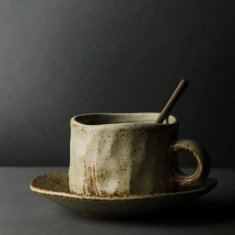 Cup with saucer - Tulip bulbs