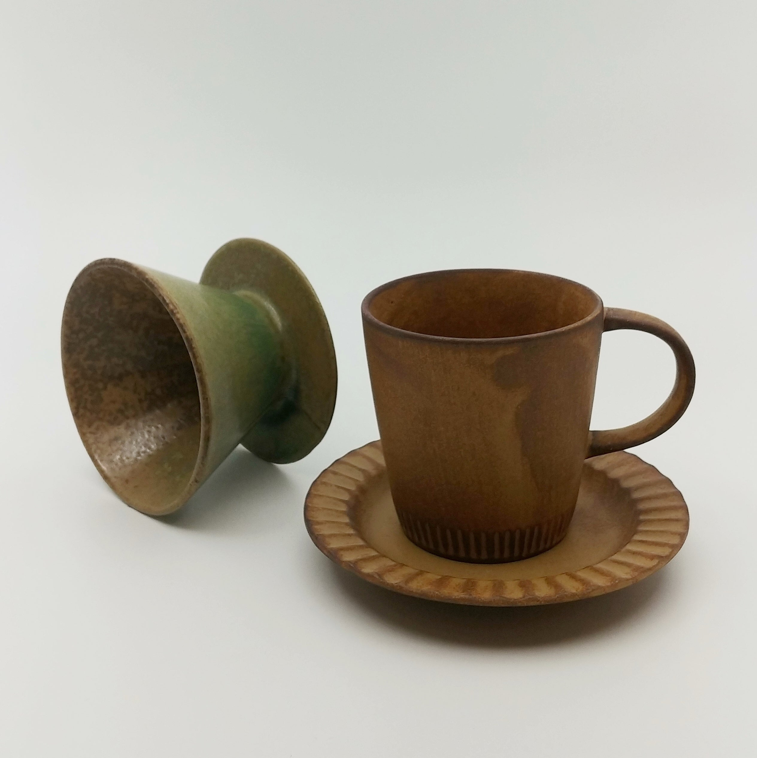 Coffee pour-over set - dripper & cup set