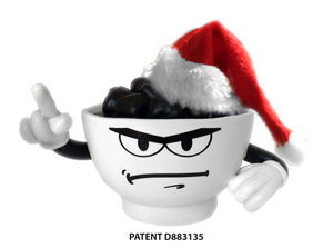 Coal in a Bowl Santa's Other Little Helper - coalinabowl