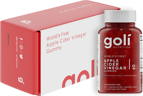 Apple Cider Vinegar Gummies by Goli