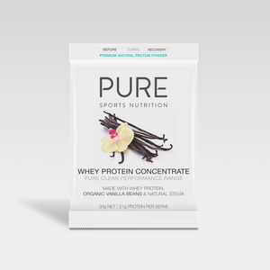 PURE Sports Nutrition - Whey Protein Powder 30g sachet