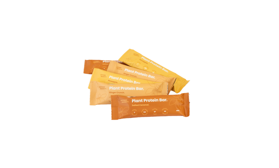 Nothing Naughty - Plant Protein Bars - Box of 12