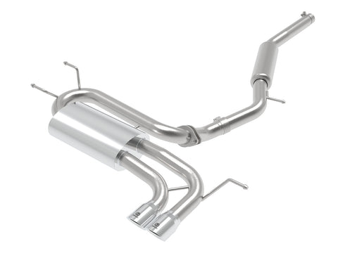 "aFe Power Takeda 2-1/2"" to 2-1/4"" 304 Stainless Steel Cat-Back Exhaust System"