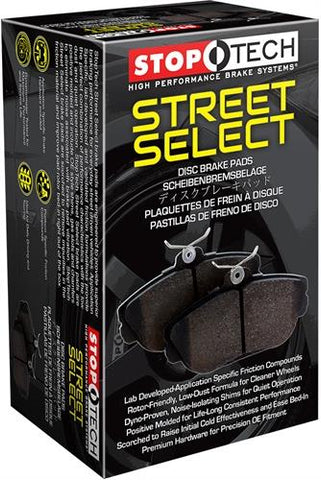 StopTech Street Select Brake Pads w/Hardware - Rear