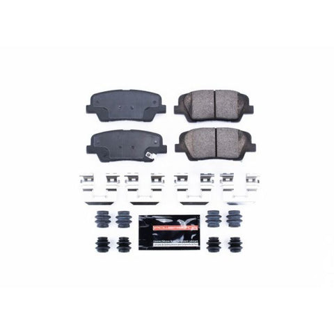 Power Stop Front Z23 Evolution Sport Brake Pads w/Hardware