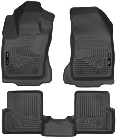 Husky Front and Rear Floor Liners