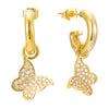 Butterfly Effect Earrings (gold or silver)