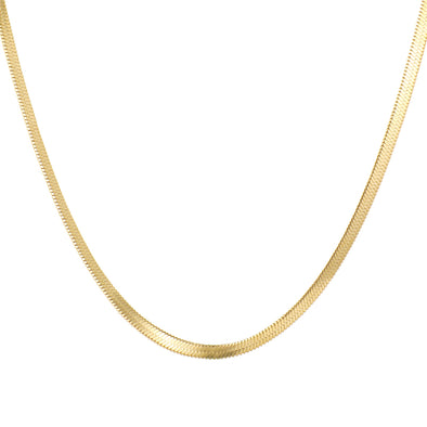 Shining Snake Necklace (gold or silver)
