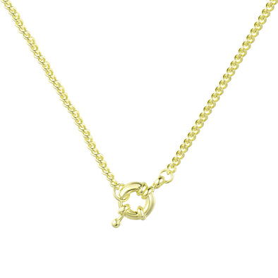 Locked in the Loop Necklace