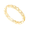 Chain Reaction Ring (gold or silver)