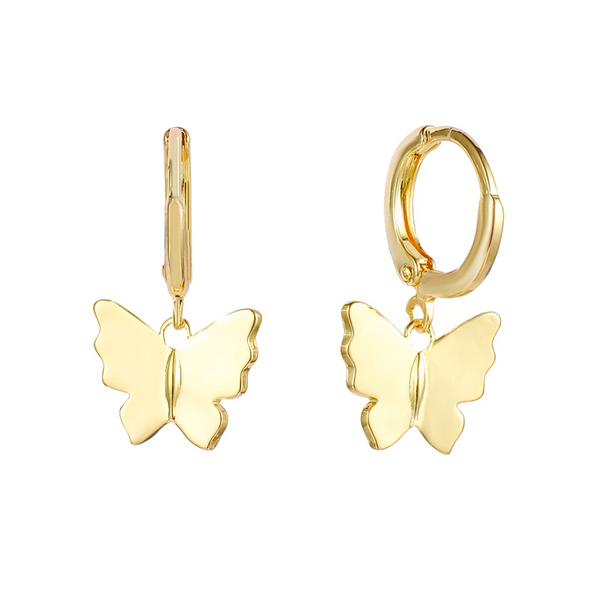 Give me Butterflies Earrings(gold or silver)