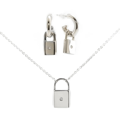 Locked in Love Set (silver)