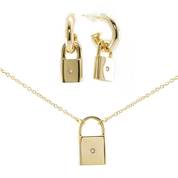 Locked in Love Set (gold)
