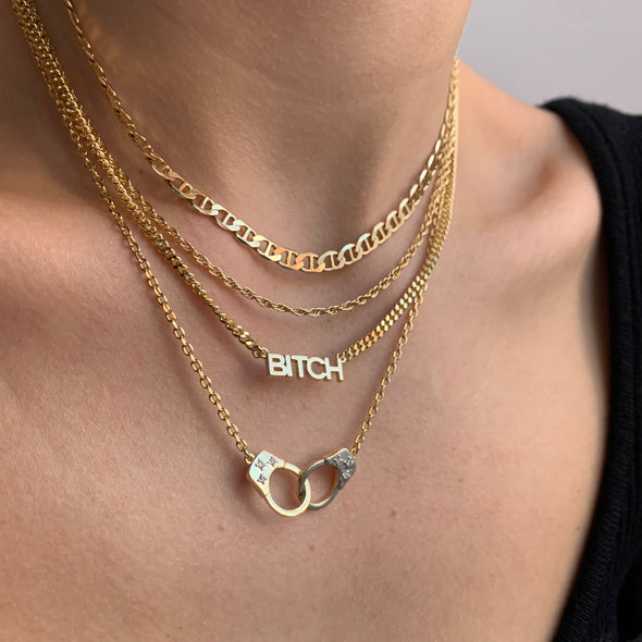 That's So Twisted Necklace (gold or silver)