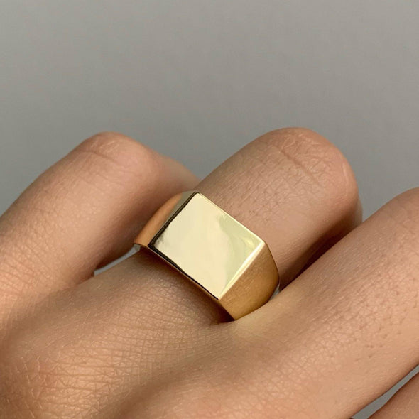 Square Up Ring (size 7)