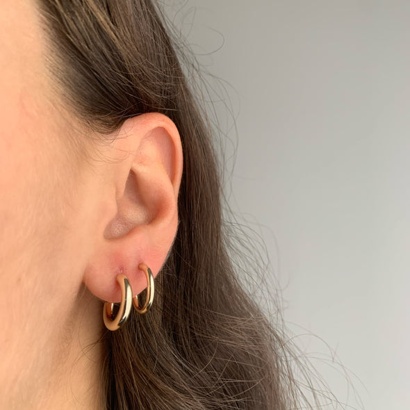 Soho 2.0 Hoops (gold or silver)
