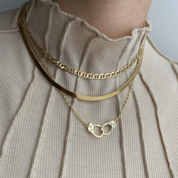 Cuffed Up Necklace