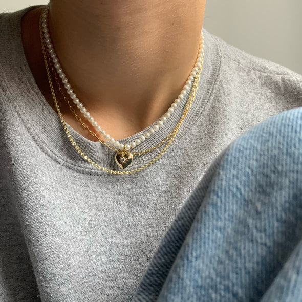 Baby Link Up Necklace (gold or silver)