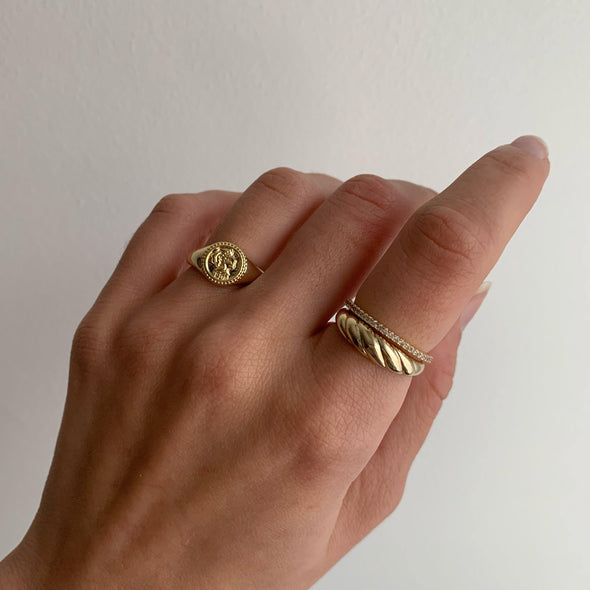 """It's Vintage"" Ring (gold or silver)"