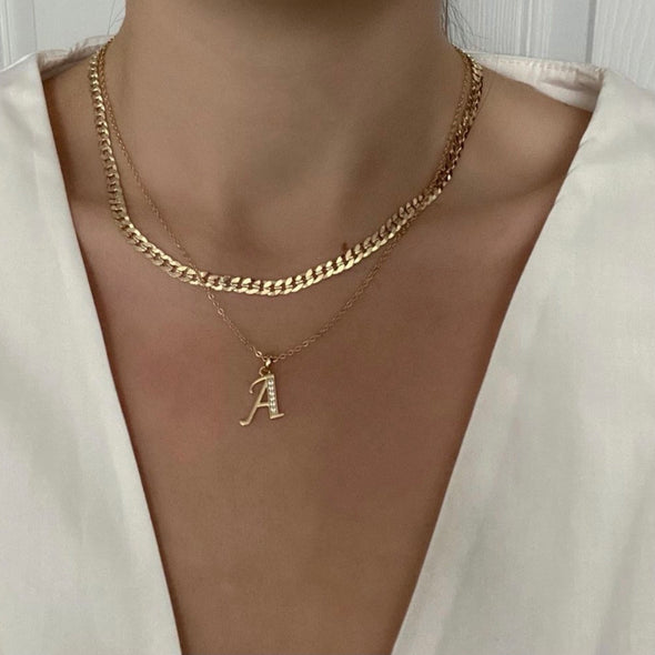 Devil Necklace (gold or silver)