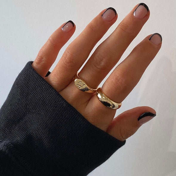 Basic B* 2.0 Ring (gold or silver)