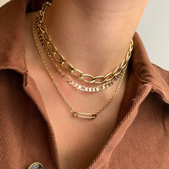 Money Necklace(gold or silver)