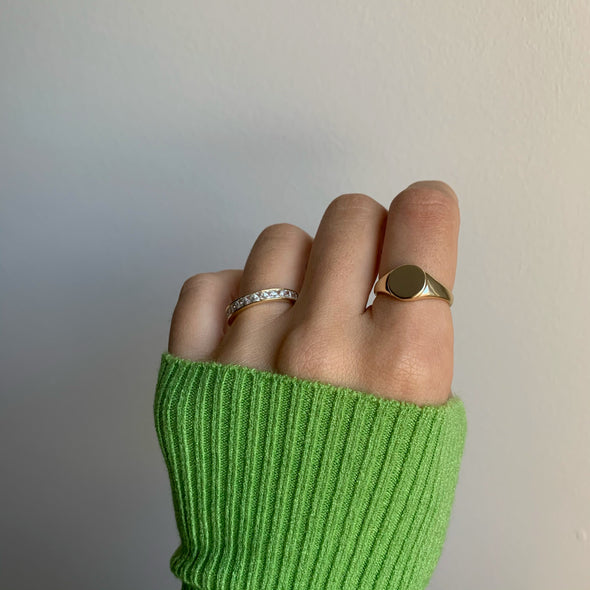 Pay Me Ring (gold or silver)