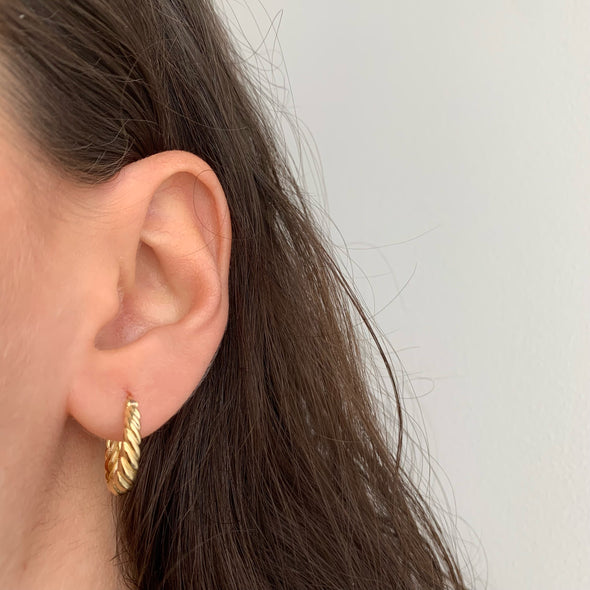 Don't Get It Twisted Earrings (gold or silver)