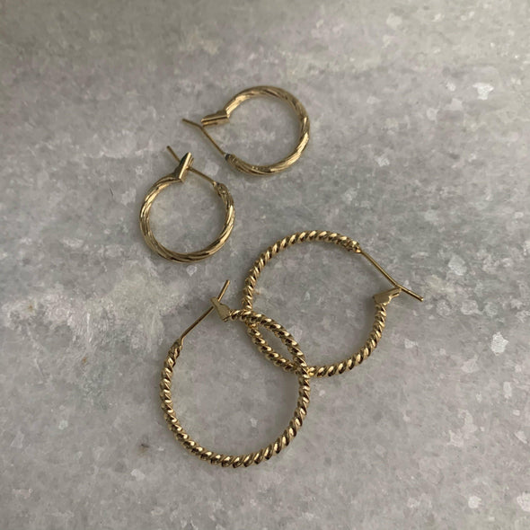 Spiralled Out Earrings
