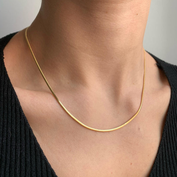 Slithering Necklace