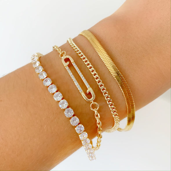 Preorder Icy Bracelet (gold)