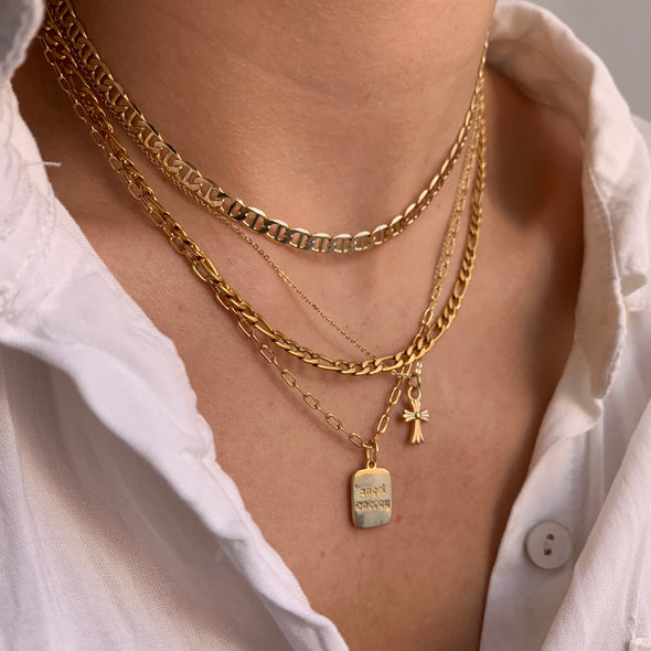I Feel Glorious Necklace (gold or silver)