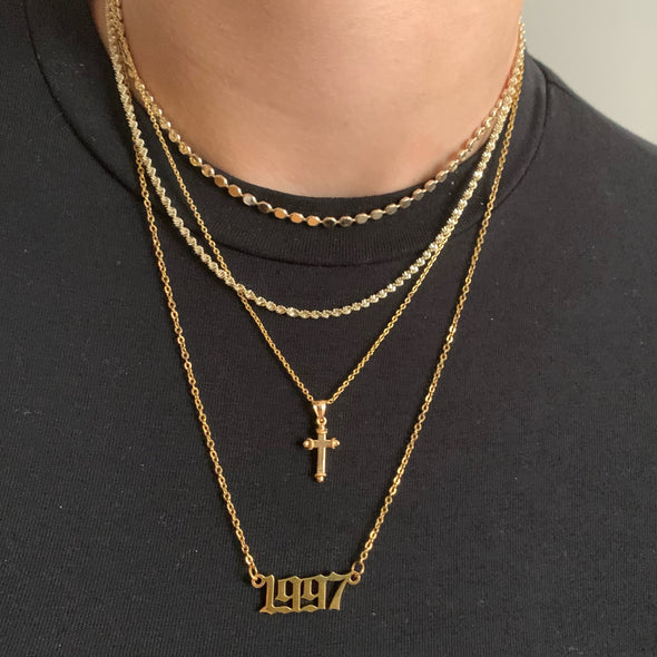 Hollywood Necklace (gold or silver)