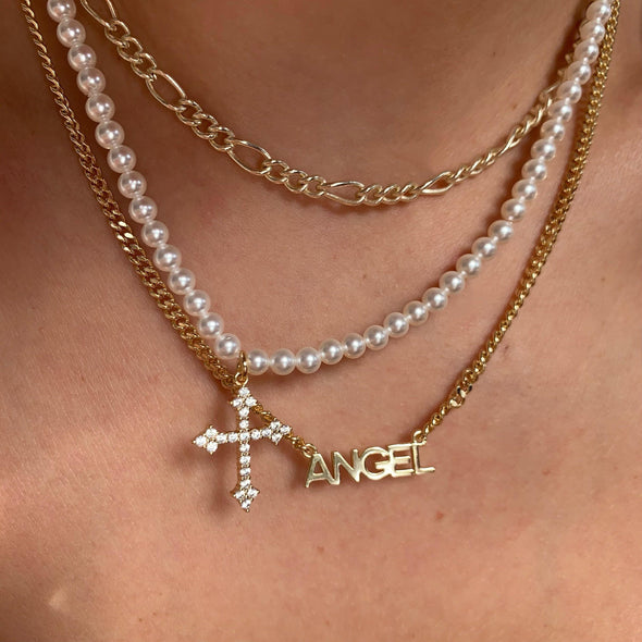 Don't Call me Angel Necklace(gold or silver)