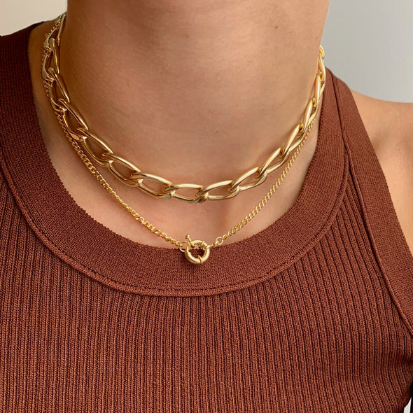 Preorder Locked in the Loop Necklace