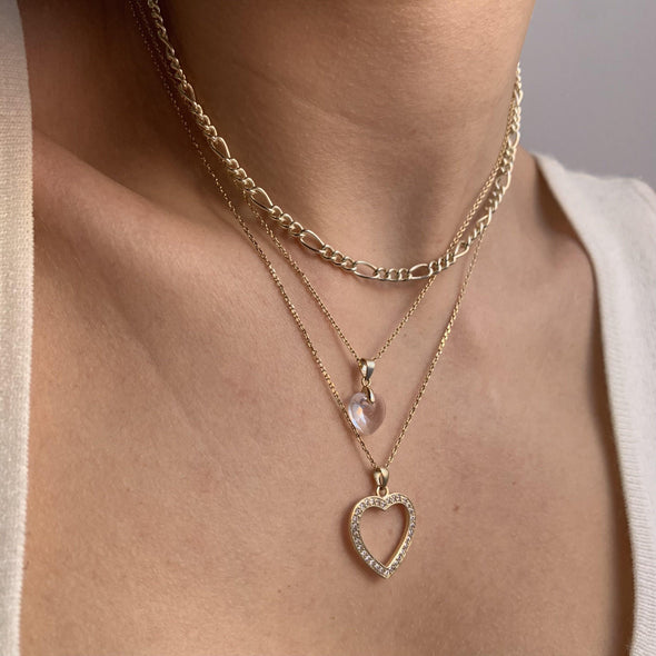 90's Babe Necklace (gold or silver)