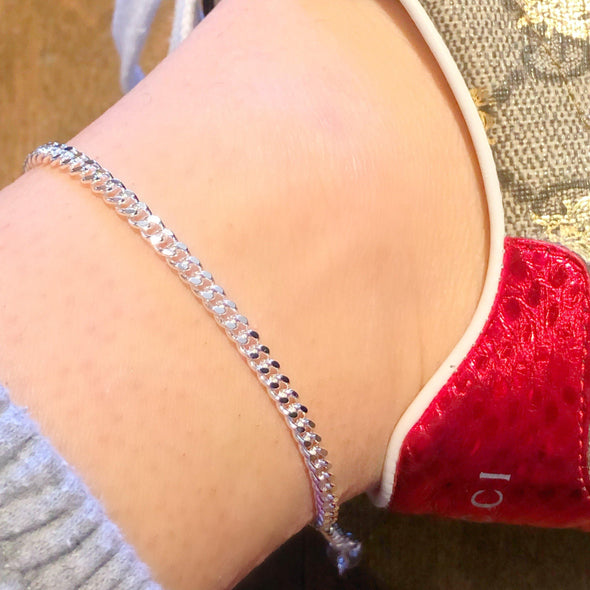 Angel Anklet (gold or silver)