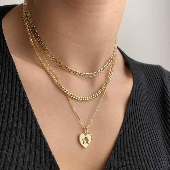 Angel Necklace (gold or silver)