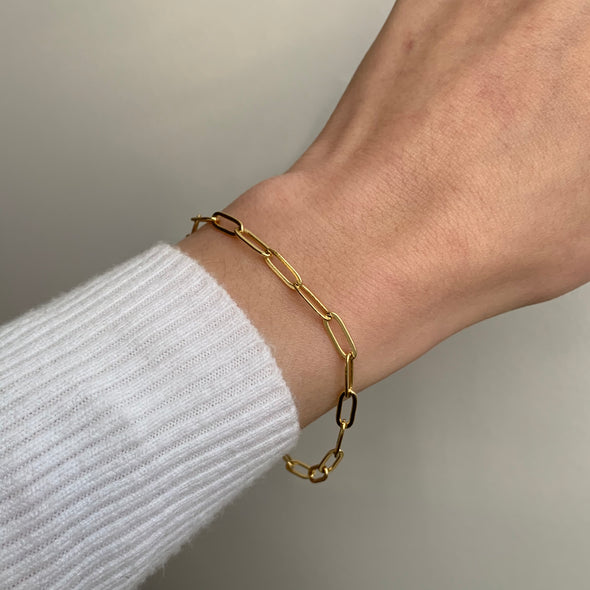 Link Up Bracelet (gold or silver)