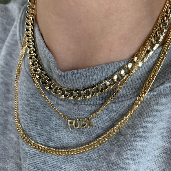Please Read This Necklace(gold or silver)