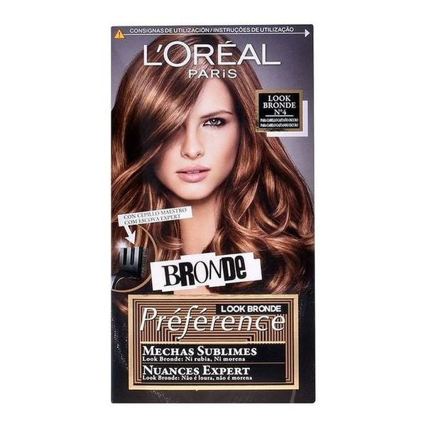 Permanent Dye Preference Mechas Sublimes L'Oreal Expert Professionnel
