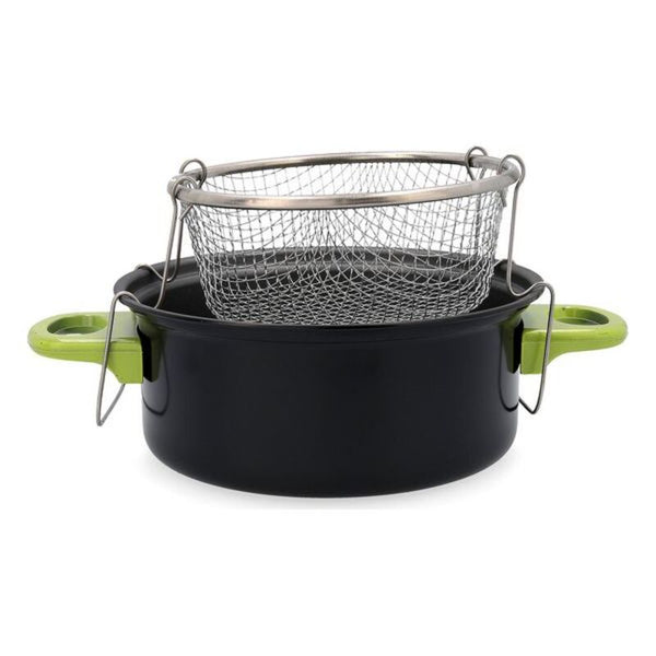 Deep-fat Fryer Quid Habitat Steel 0,2 L (Ø 20 cm)