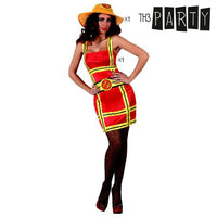 Costume for Adults 2526 Firewoman (2 Pcs)