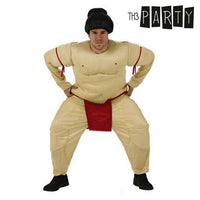 Costume for Adults Sumo wrestler (2 Pcs)