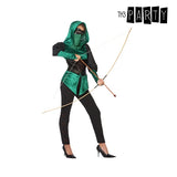 Costume for Adults Female archer Green (5 Pcs)